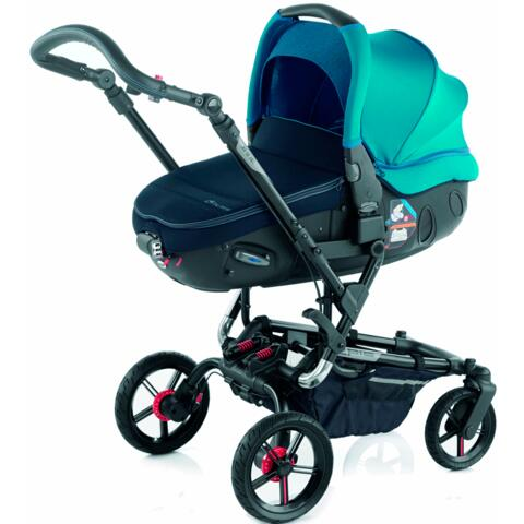 Poussette epic jan avec matrix s46 teal 2016 for Precios sillitas bebe para coche