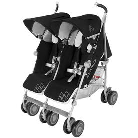 POUSSETE MACLAREN TWIN TECHNO BLACK