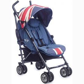 POUSSETTE EASY WALKER MINI BUGGY UNION JACK VINTAGE